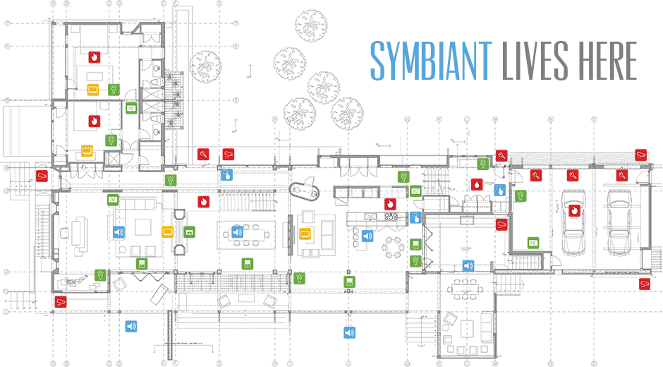 Symbiant Home Automation System Smart Home Estate